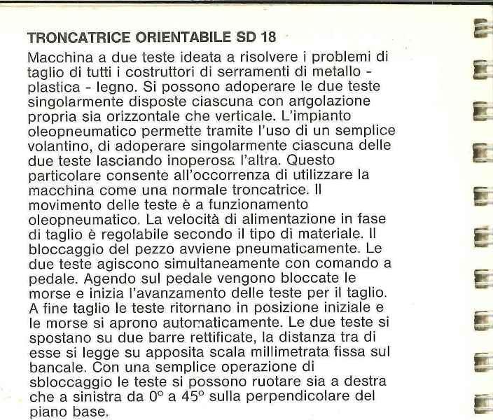 Paoloni Table Saw Automatic cross - cutting machine STB SD18 used | Bardi Macchine
