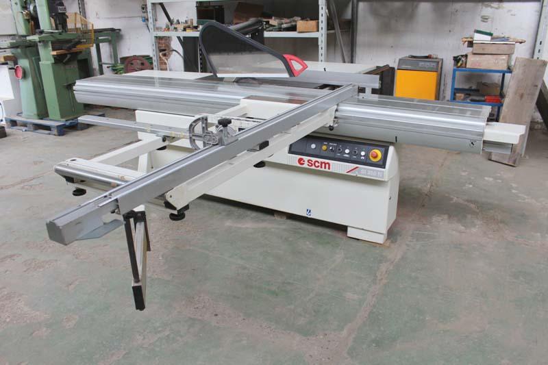 Table Circular Saw Scm Si 350 N Bardi Macchine
