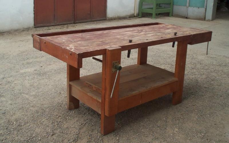 Banco da lavoro bardi macchine - Tavolo da falegname usato ...