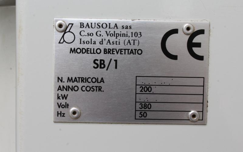 : Bausola_FR10/18_Fresatrici