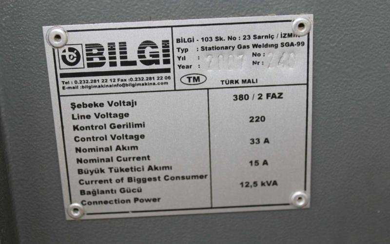 : BILGI_ML19/69_Affilatrici e Macchine per Lame